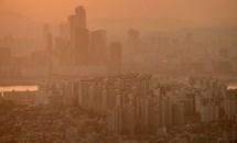 Hàn Quốc lần đầu tiên cảnh báo bụi cát vàng trên quy mô toàn quốc sau 10 năm