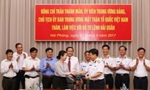 Phát huy nhân tố chính trị - tinh thần của quân đội trong bảo vệ chủ quyền biển, đảo
