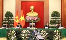 Tổng Bí thư Nguyễn Phú Trọng dự Hội nghị thượng đỉnh giữa Đảng Cộng sản Trung Quốc với các chính đảng trên thế giới