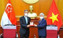Tư tưởng Hồ Chí Minh về độc lập, tự chủ trong đối ngoại, đoàn kết quốc tế và việc vận dụng trong tình hình hiện nay