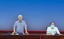 Thống nhất kế hoạch tổ chức Hội nghị triển khai chương trình hành động của MTTQ Việt Nam và các tổ chức thành viên thực hiện Nghị quyết Đại hội XIII của Đảng