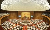 Nhiều nội dung quan trọng trong ngày làm việc đầu tiên Kỳ họp thứ nhất, Quốc hội khóa XV