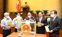 Quốc hội bầu lãnh đạo các cơ quan của Quốc hội và Tổng Kiểm toán nhà nước