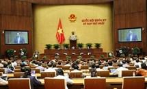 Quốc hội thông qua Nghị quyết về cơ cấu tổ chức của Chính phủ nhiệm kỳ 2021-2026