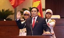 Ông Phạm Minh Chính tiếp tục được bầu giữ chức Thủ tướng Chính phủ