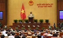 Quốc hội thông qua Nghị quyết về Kế hoạch phát triển kinh tế-xã hội 5 năm