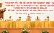 Tổng Bí thư Nguyễn Phú Trọng dự Phiên họp đầu tiên của Chính phủ nhiệm kỳ 2021-2026