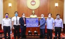 Tiếp nhận thêm nhiều máy thở ủng hộ tâm dịch Thành phố Hồ Chí Minh