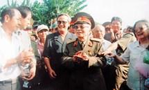 Phát huy truyền thống cách mạng, thực hiện tốt lời dạy của Đại tướng Võ Nguyên Giáp, quyết tâm xây dựng tỉnh Quảng Bình ngày càng giàu đẹp