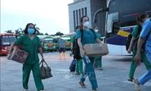 11 tỉnh, thành phố đã cử cán bộ y tế hỗ trợ Hà Nội chống dịch