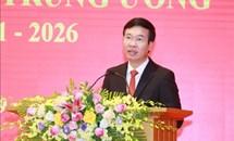 Lễ ra mắt và Kỳ họp thứ nhất Hội đồng Lý luận Trung ương nhiệm kỳ 2021-2026