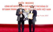 Chỉ định ông Lê Tiến Châu giữ chức Bí thư Đảng ủy Cơ quan Trung ương MTTQ Việt Nam