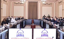 Chủ tịch nước Nguyễn Xuân Phúc hội kiến Chủ tịch Quốc hội Cuba Esteban Lazo