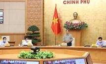 Thủ tướng Phạm Minh Chính chủ trì họp trực tuyến toàn quốc phòng, chống dịch COVID-19