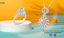 Trang sức kim cương DOJI - Tạo dấu ấn riêng cho nàng tỏa sáng