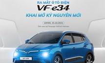 VinFast VF e34 hé lộ những thông tin mới gì trong sự kiện ra mắt vào sáng 15/10?