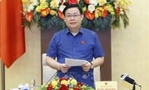 Chủ tịch Quốc hội chủ trì buổi làm việc về chính sách hỗ trợ nền kinh tế vượt qua khó khăn