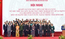 Đẩy mạnh tuyên truyền, quán triệt Kết luận số 12-KL/TW về công tác người Việt Nam ở nước ngoài trong tình hình mới
