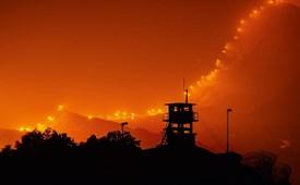 """Hình ảnh """"địa điểm đáng sợ nhất"""" trên trái đất ở bán đảo Triều Tiên"""