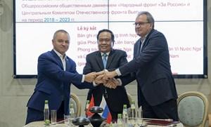 Việt Nam - Nga thúc đẩy hợp tác thúc đẩy hợp tác các tổ chức nhân dân