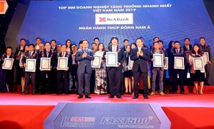 SeABank lọt vào top 500 doanh nghiệp tăng trưởng nhanh nhất Việt Nam