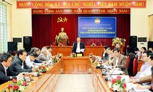 Vĩnh Phúc: Phản biện dự thảo Đề án và Nghị quyết của Tỉnh ủy về nâng cao thu nhập và đời sống nhân dân