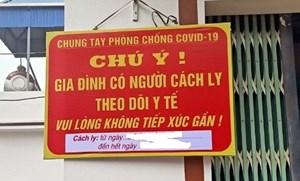 Hà Nội dừng đề xuất treo biển trước nhà người dân trở về từ TP Hồ Chí Minh