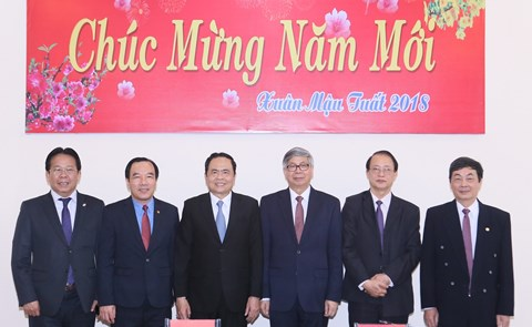 Phát huy vai trò của các tổ chức thành viên trong hệ thống Mặt trận