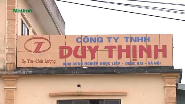 """Quốc Oai (Hà Nội): Doanh nghiệp xả thải ra môi trường, người dân nhiều năm """"kêu cứu"""" trong vô vọng"""
