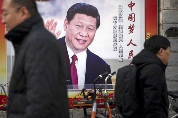Hình ảnh ông Tập Cận Bình quyền uy hiện diện khắp nơi ở Trung Quốc