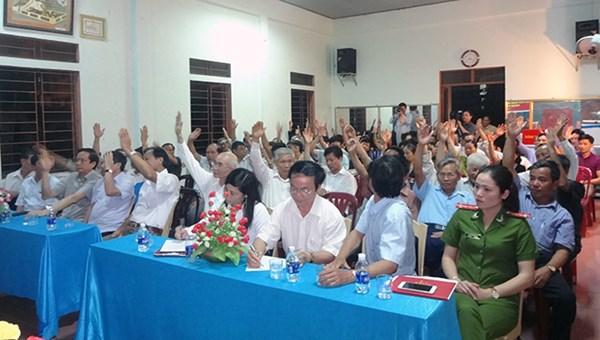 Kiện toàn tổ chức và nâng cao hiệu quả hoạt động của Ban Công tác Mặt trận ở khu dân cư