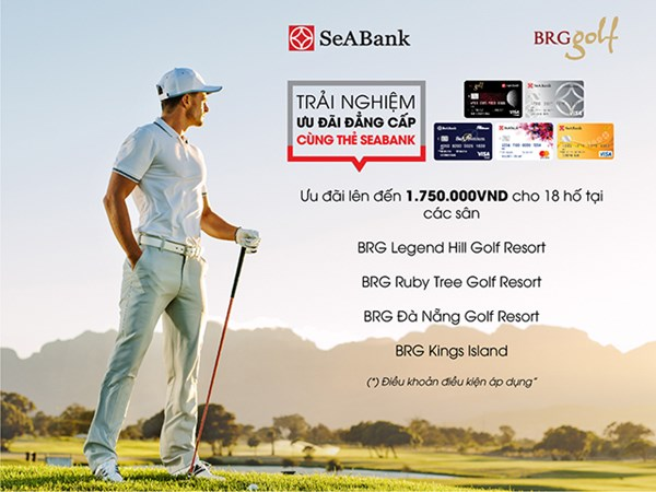 Ưu đãi chơi Golf đẳng cấp dành riêng cho chủ thẻ SeABank