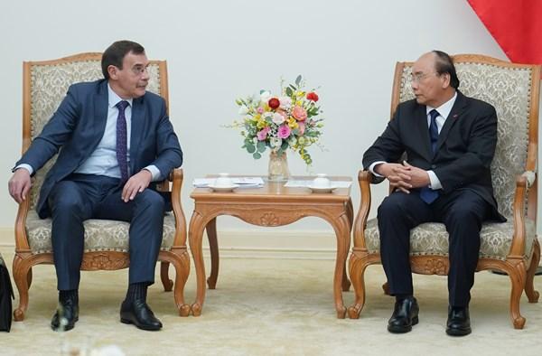 Thủ tướng tiếp Chủ tịch Cơ quan Chống tham nhũng Liên bang Nga