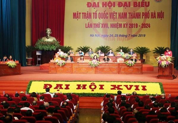 Phát huy tính đổi mới, sáng tạo, nâng cao hiệu quả hoạt động của MTTQ Việt Nam Thành phố Hà Nội