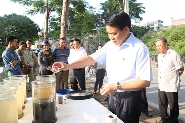 Tân Chủ tịch Hà Nội: Sẽ làm sạch sông Tô Lịch bằng công nghệ nào?
