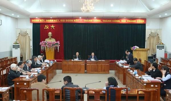 Khẳng định vị thế của thành viên Hội đồng tư vấn trong giám sát và phản biện xã hội