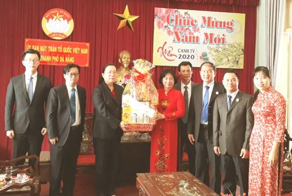 Tổng Lãnh sự quán Liên bang Nga, Trung Quốc, Lào chúc Tết MTTQ thành phố Đà Nẵng