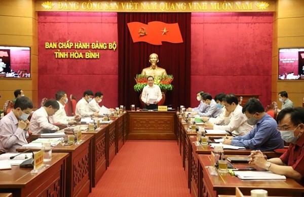 Vượt qua khó khăn về dịch bệnh, tổ chức đại hội đảng bộ theo đúng tiến độ đề ra