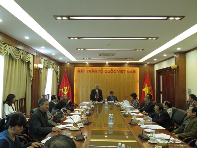 Huy động Hội đồng tư vấn góp ý vào các dự án Luật