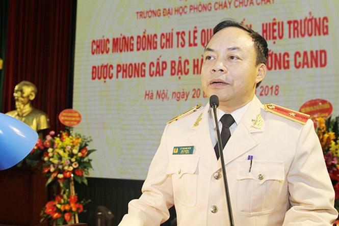 Thiếu tướng, TS. Lê Quang Bốn – Hiệu trưởng Trường ĐHPCCC: PHÁT TRIỂN TRƯỜNG ĐẠI HỌC PCCC THEO MÔ HÌNH ĐÀO TẠO ĐẠI HỌC 4.0…