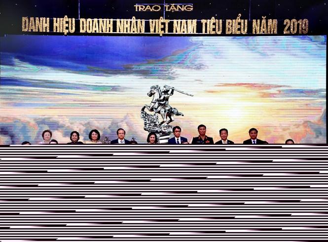 Top 20 doanh nhân Việt Nam tiêu biểu được tôn vinh năm 2019.