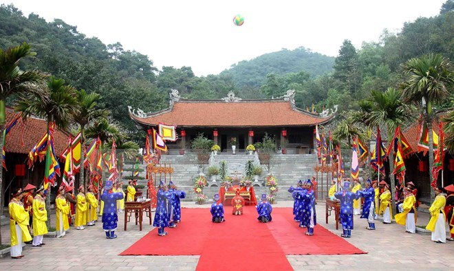 Lễ hội Côn Sơn - Kiếp Bạc. Ảnh minh họa