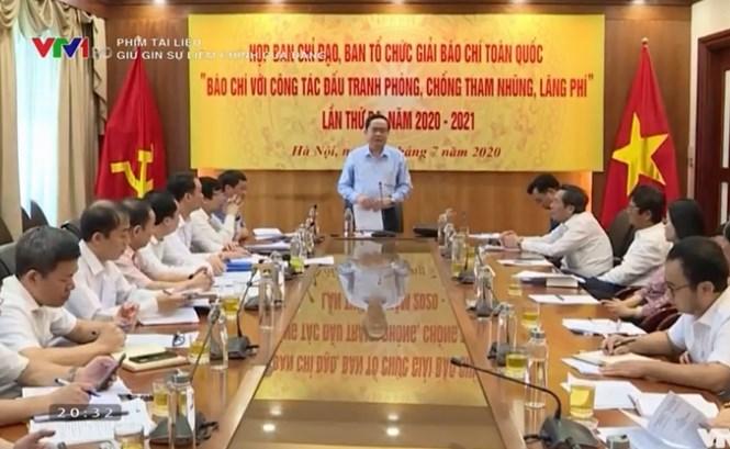 Phim tài liệu: Giữ gìn sự liêm chính của Đảng